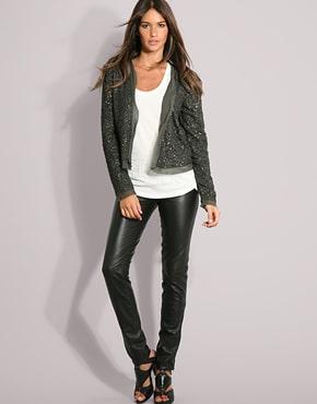 Le pantalon legging est la tendance mode de l'hiver 2013