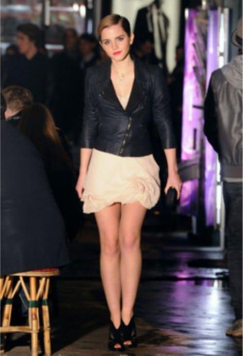 Emma Watson en perfecto pour Lancôme