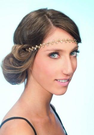 headband coiffure noel