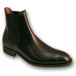 Boots homme cuir noire