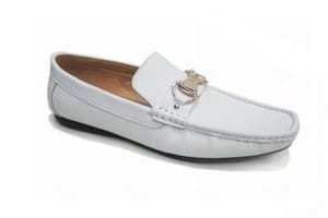 Chaussures Cuir homme blanc