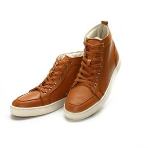 Chaussures cuir Homme brune