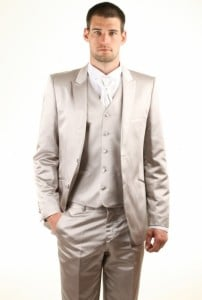 Costume de mariage fashion gris wedding