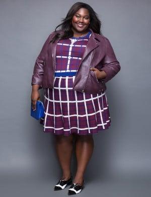 mannequin femme noire grande taille