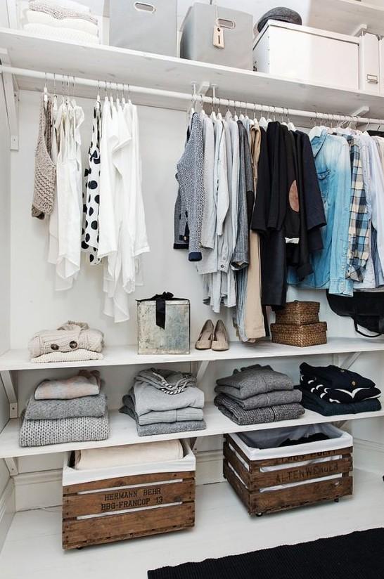 comment fabriquer son propre dressing boulevard de la mode. Black Bedroom Furniture Sets. Home Design Ideas