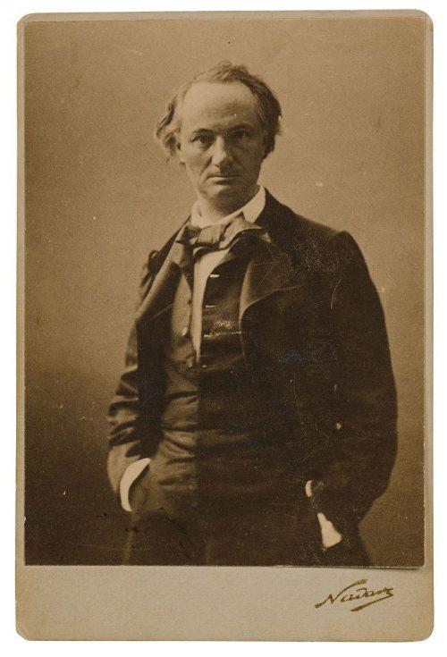 Charles Baudelaire en tenue dandy