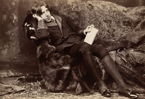 Look dandy d'Oscar Wilde